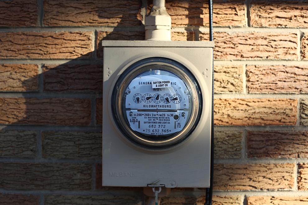 Home Power Meter : The meter