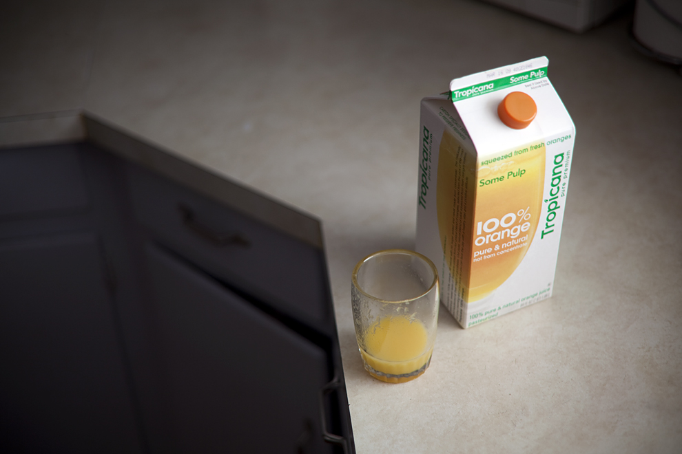 Tropicana Orange Juice carton