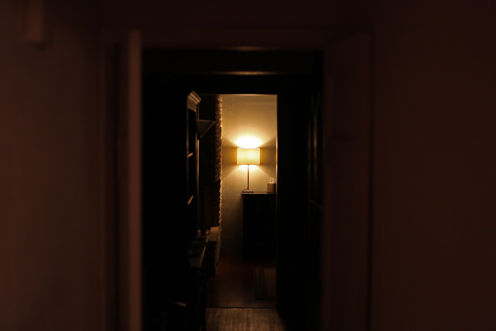 light down the hall