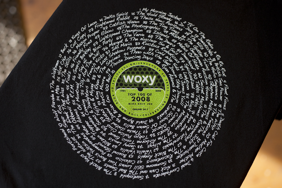 WOXY 2008 T-shirt