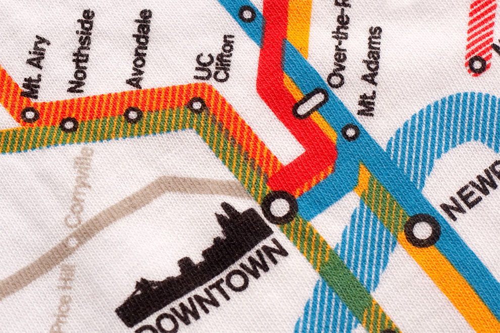 Cincinnati Transit Map for Optimists