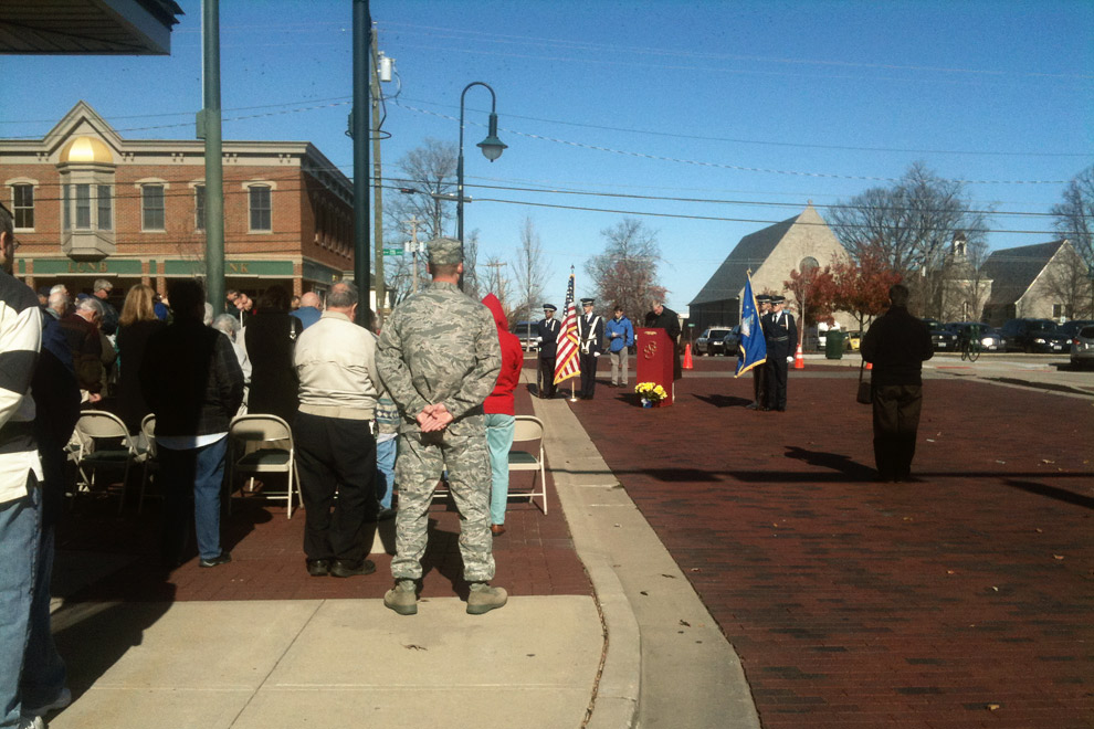 Veteran's Day in Oxford, Ohio