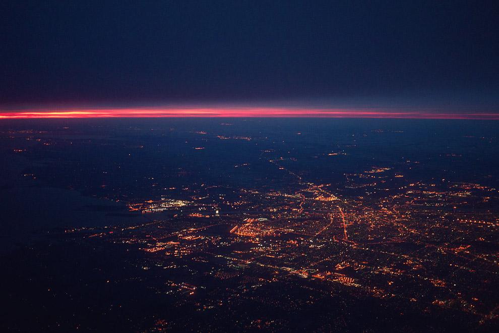 Chris Glass � Red-eye flight