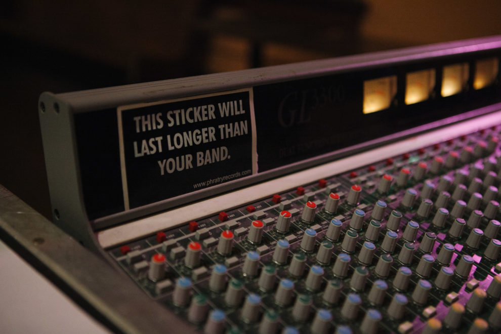 This sticker will last longer than your band