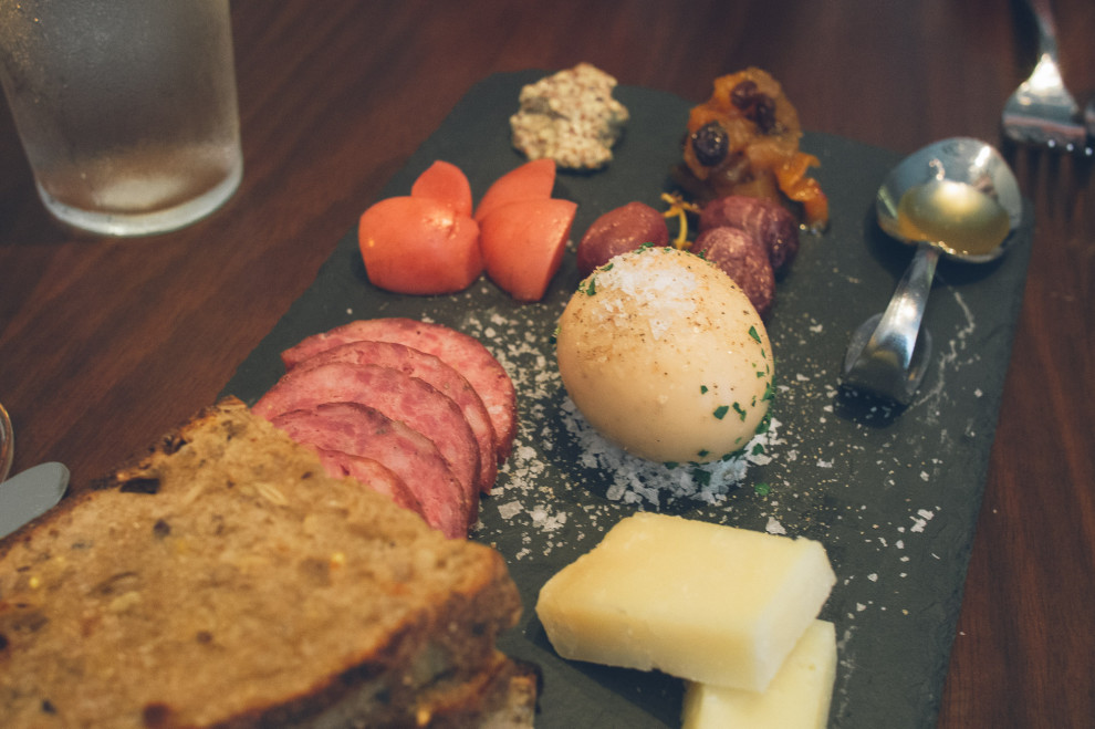 A fancy word for meat: Charcuterie