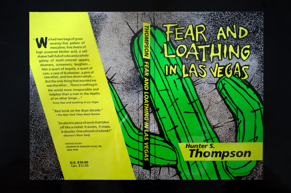 Fear and Loathing in las Vegas book cover project