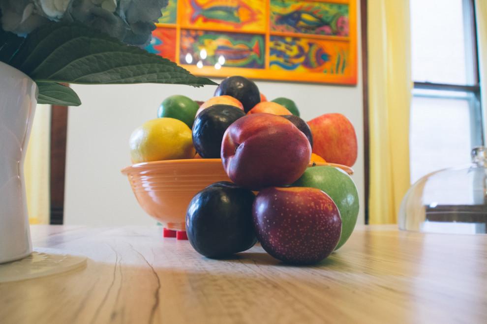 Fruit bowl at Dan and Ralphs