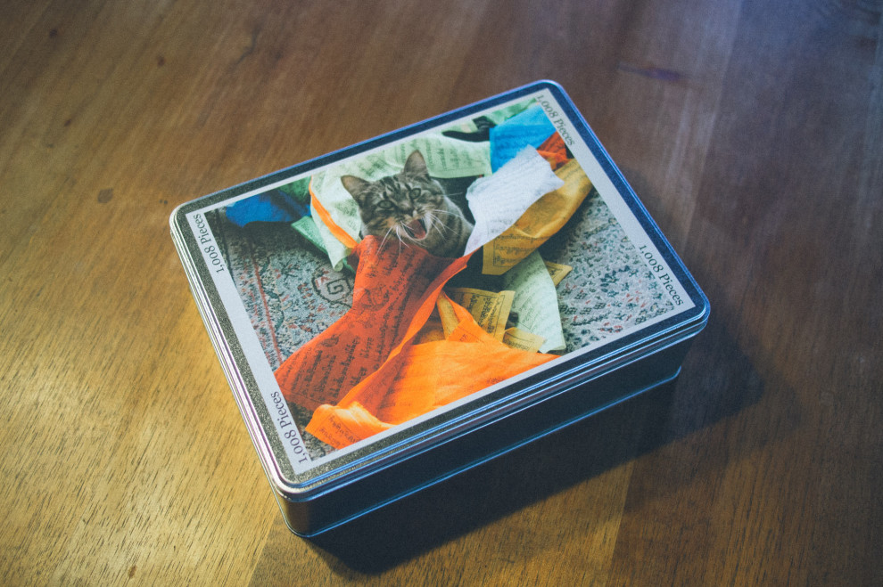 A puzzle of my cat