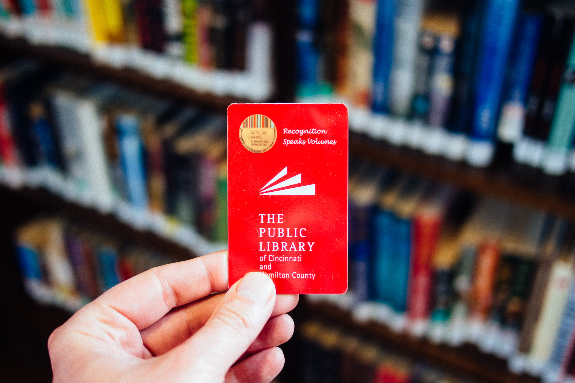 (insert the power of a library card)