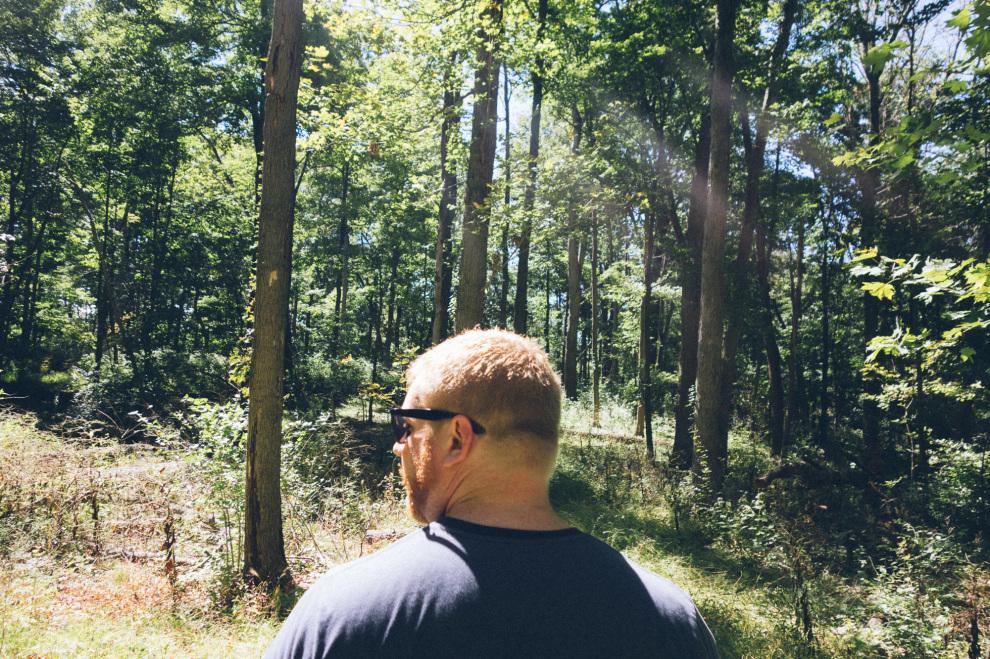 A hike with Dan