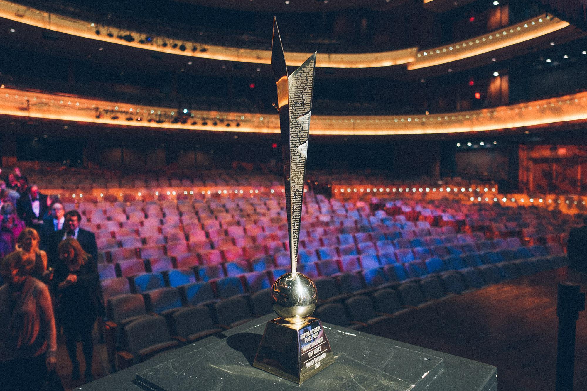 Dayton Literary Peace Prize Award