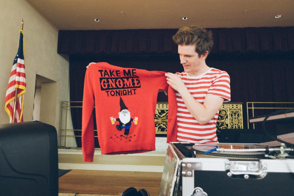 Ben's Christmas sweater
