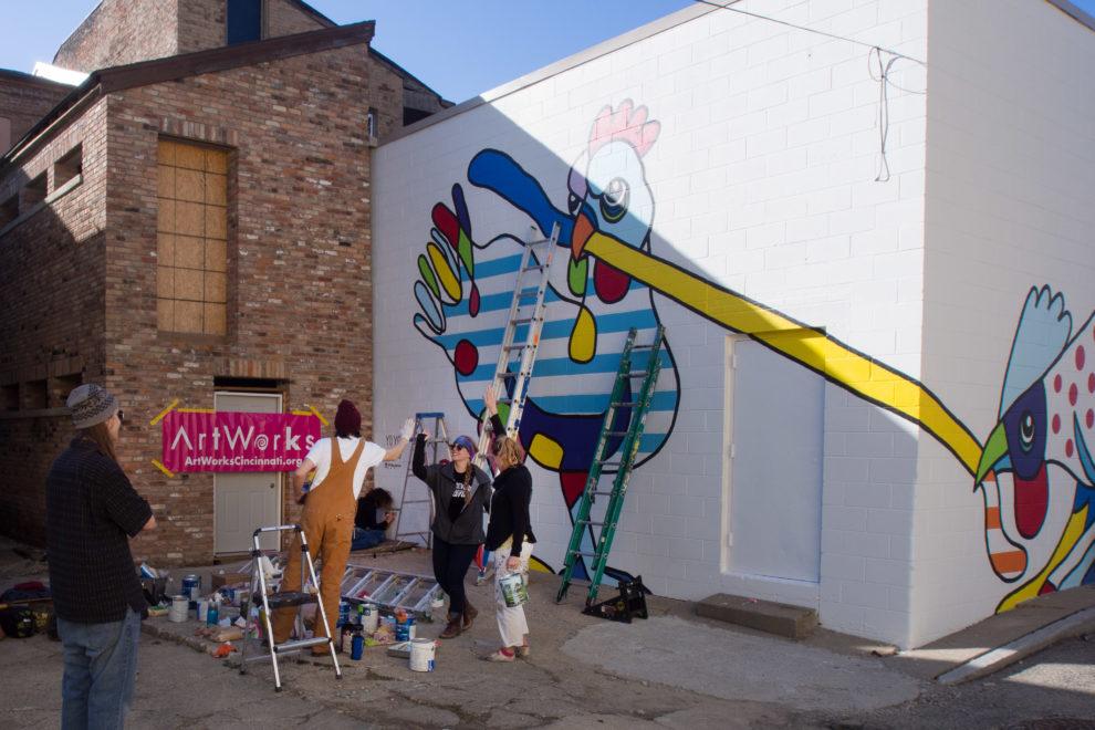 Yoyo Ferro Artworks mural