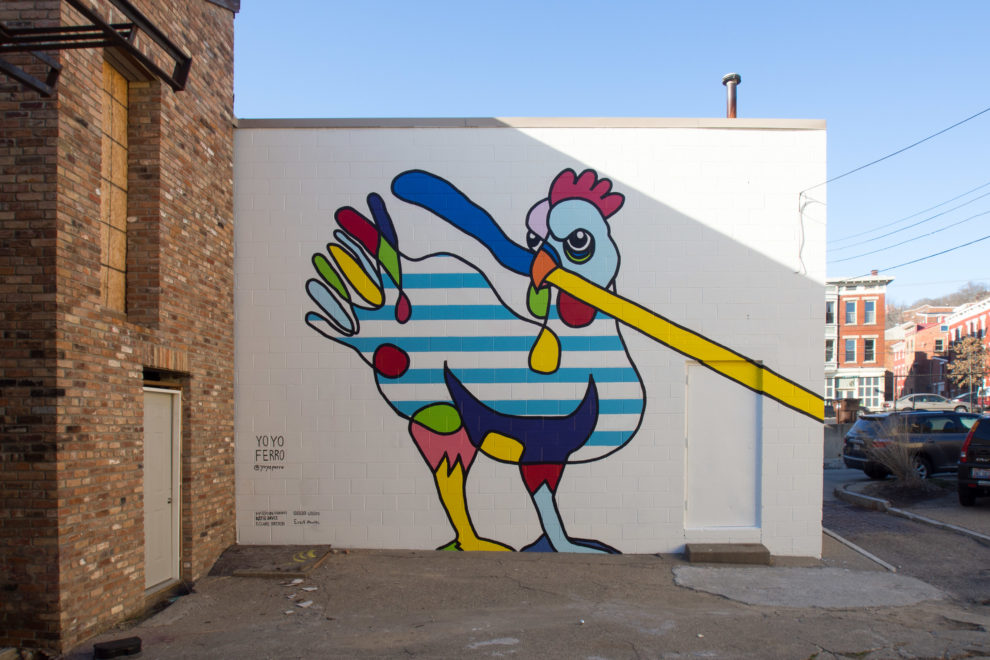 Yoyo Ferro Artworks mural