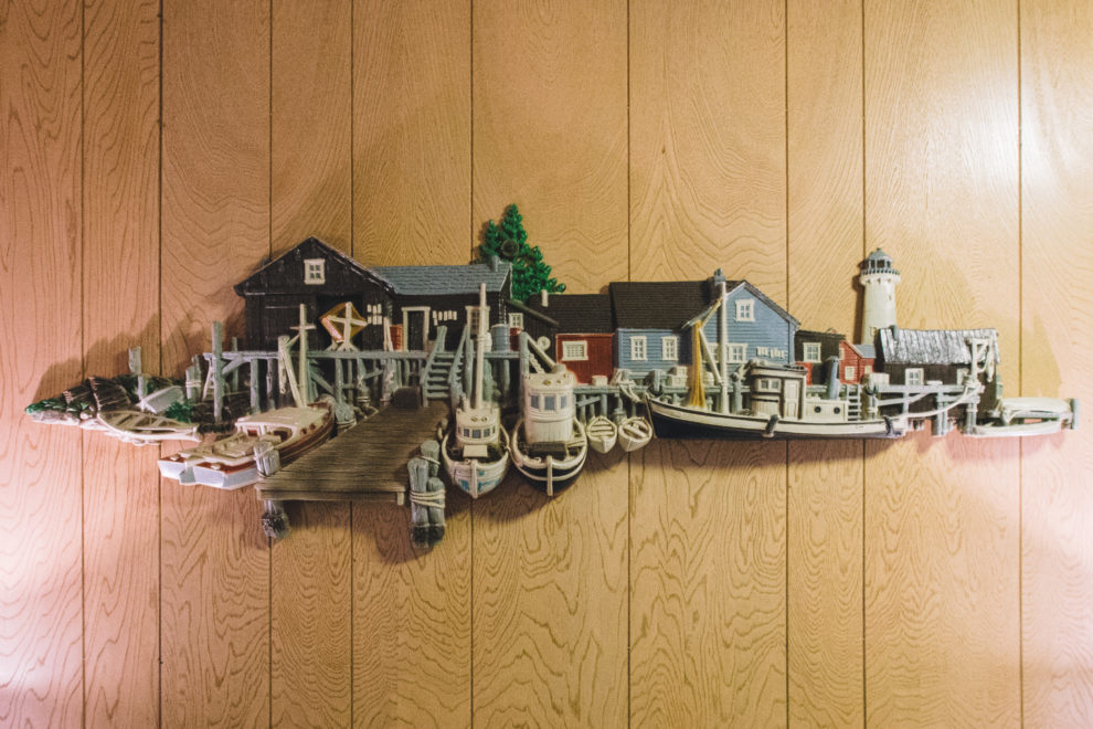 Anchor wall-decor