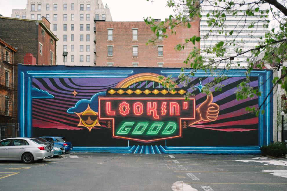 Looking Good mural