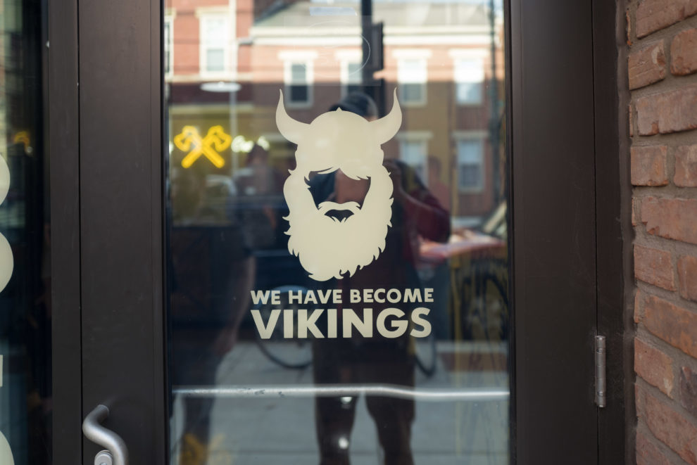 We Have Become Vikings door