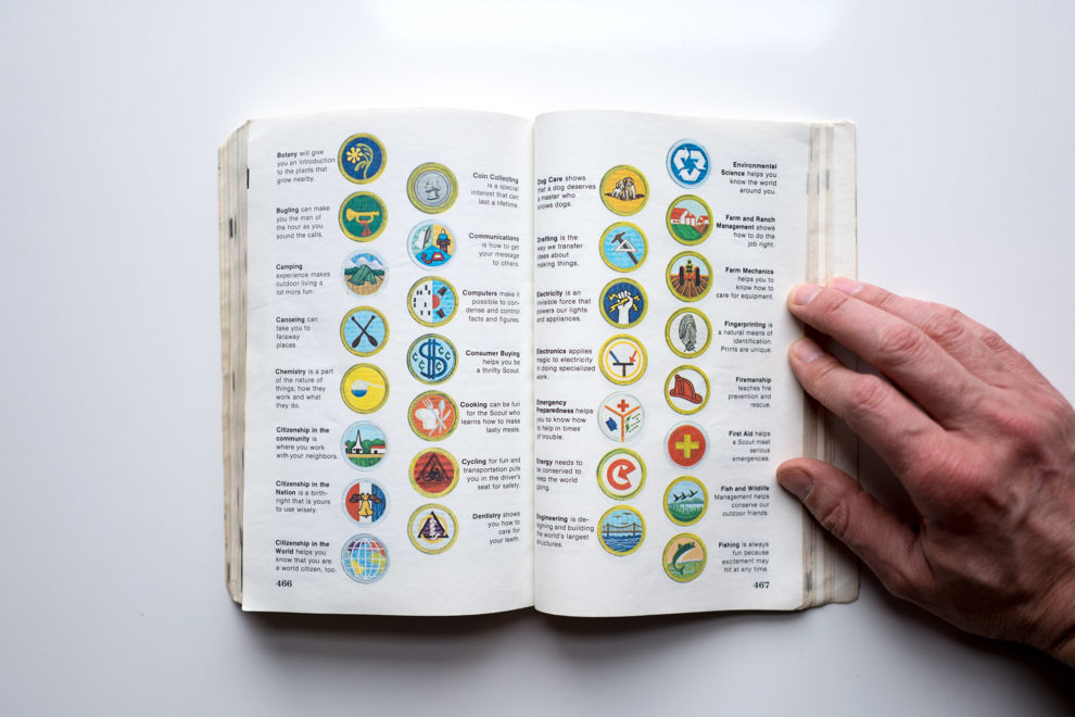 Boy Scout Handbook badges