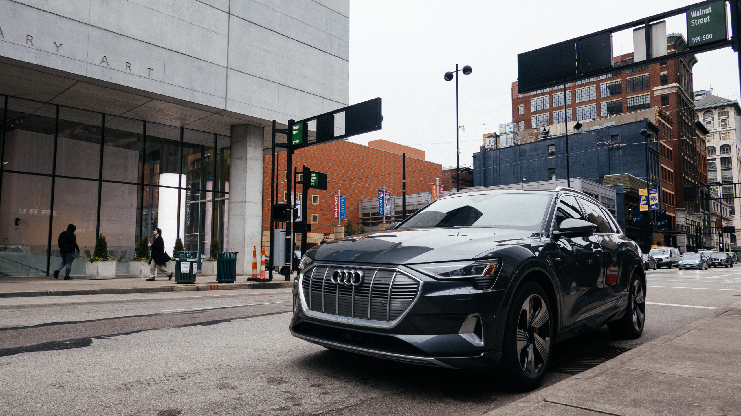 Audi eTron in the wild