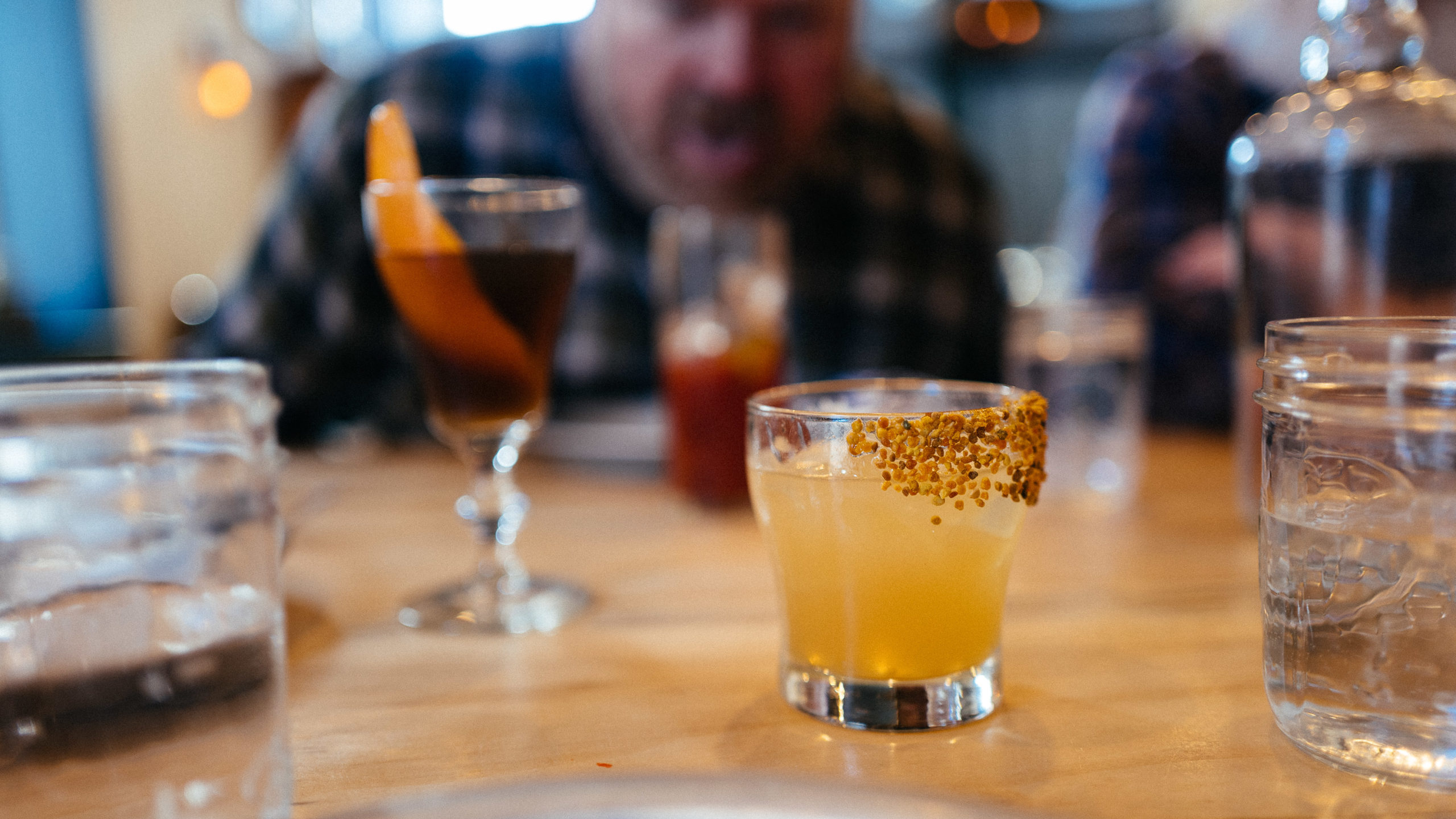 Boomtown Whiskey and Biscuits cocktail