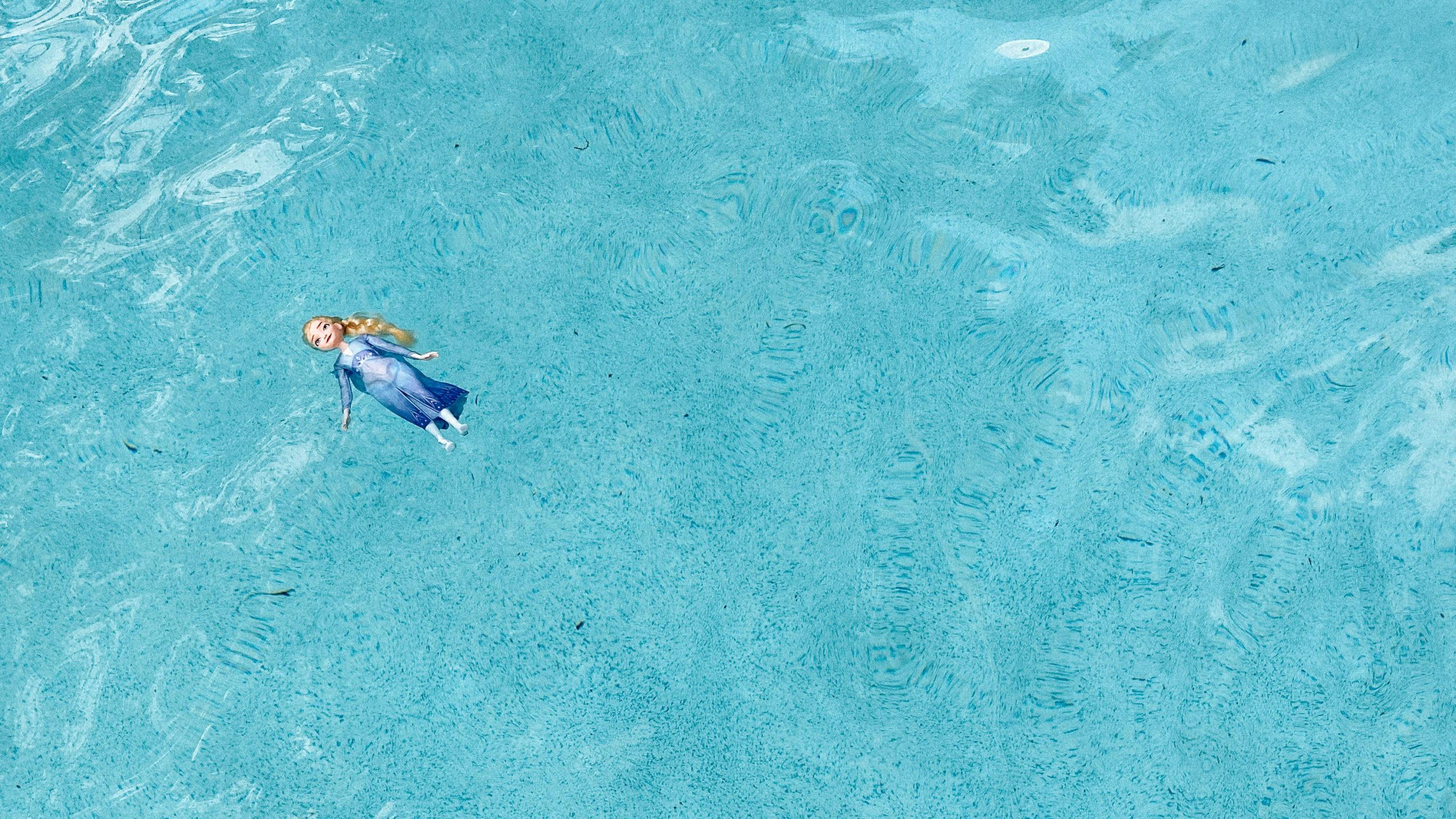 Elsa floats
