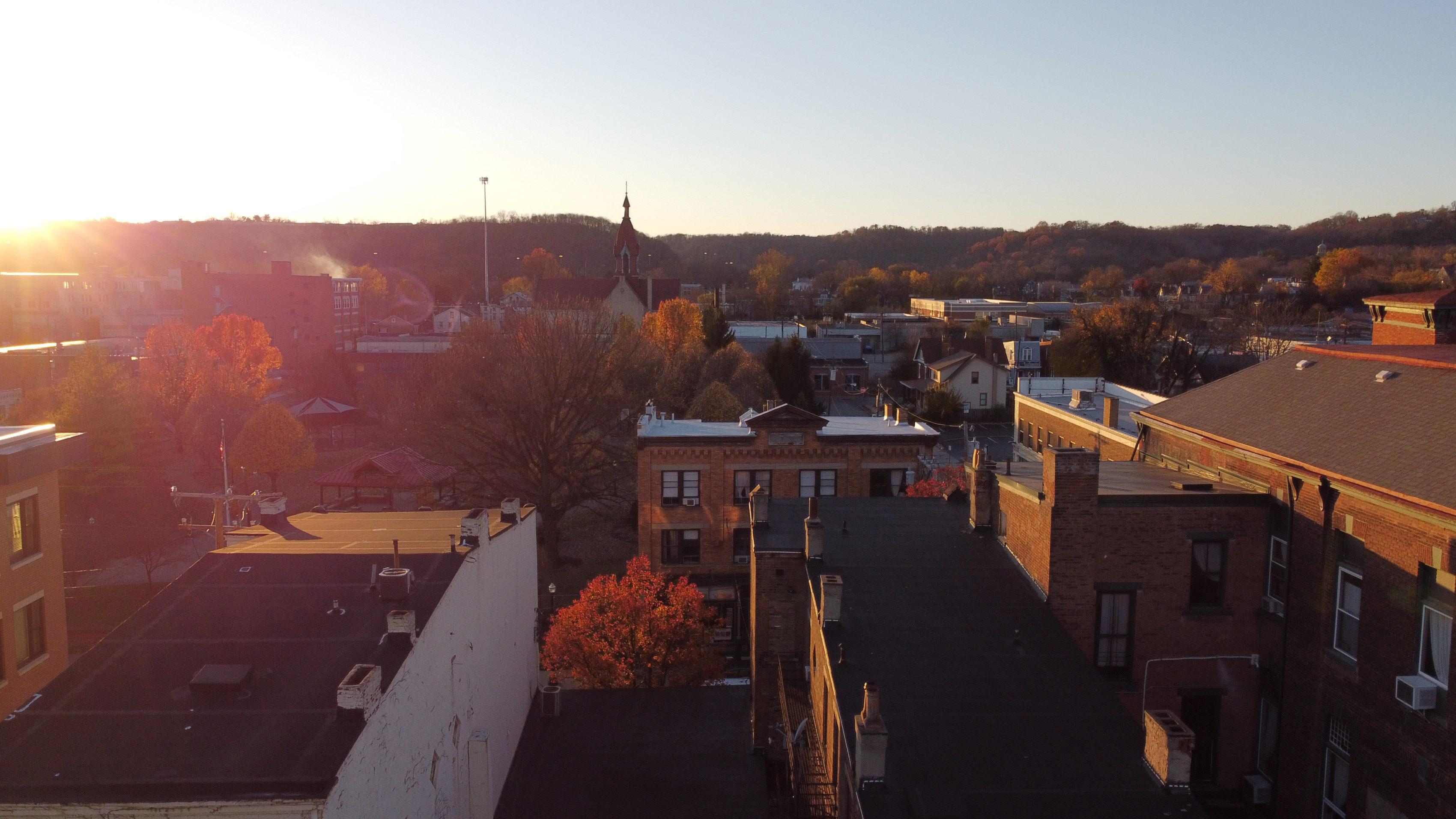 Sunset in Northside Ohio