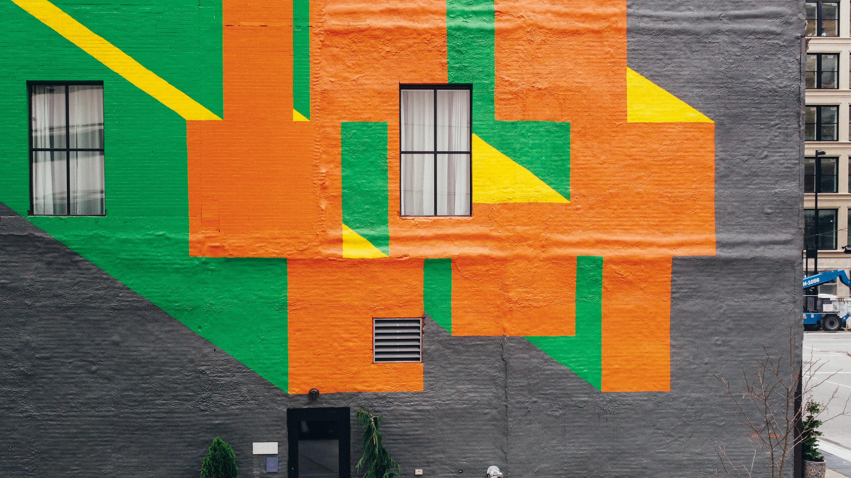 Allegro Urban Walls detail