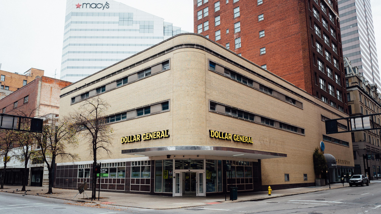 Dollar General, downtown Cincinnati