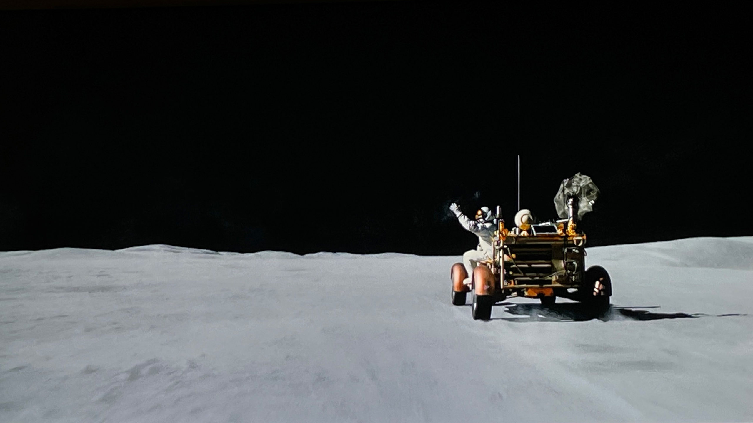 Ad Astra moon scene