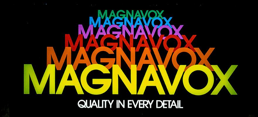 Magnavox Sign