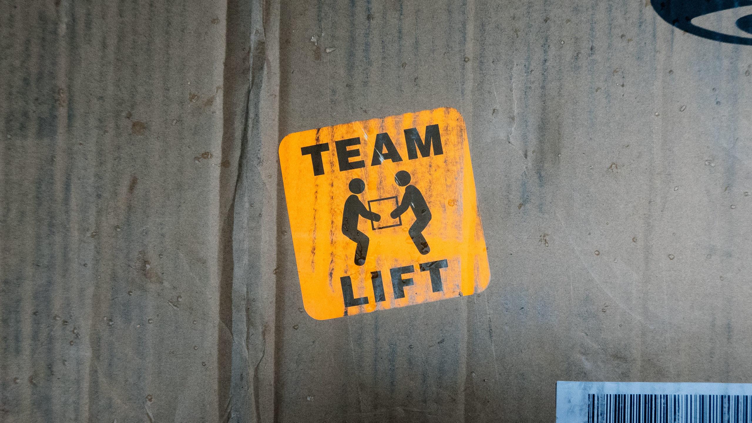 TEAM LIFT sticker