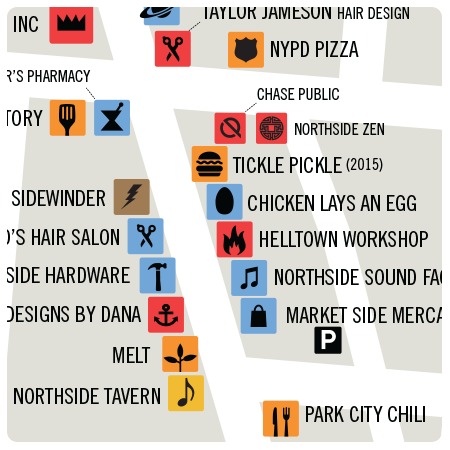 Northside Map