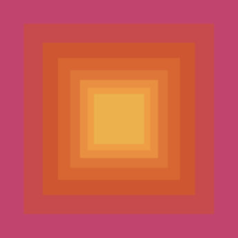 Radiating squares