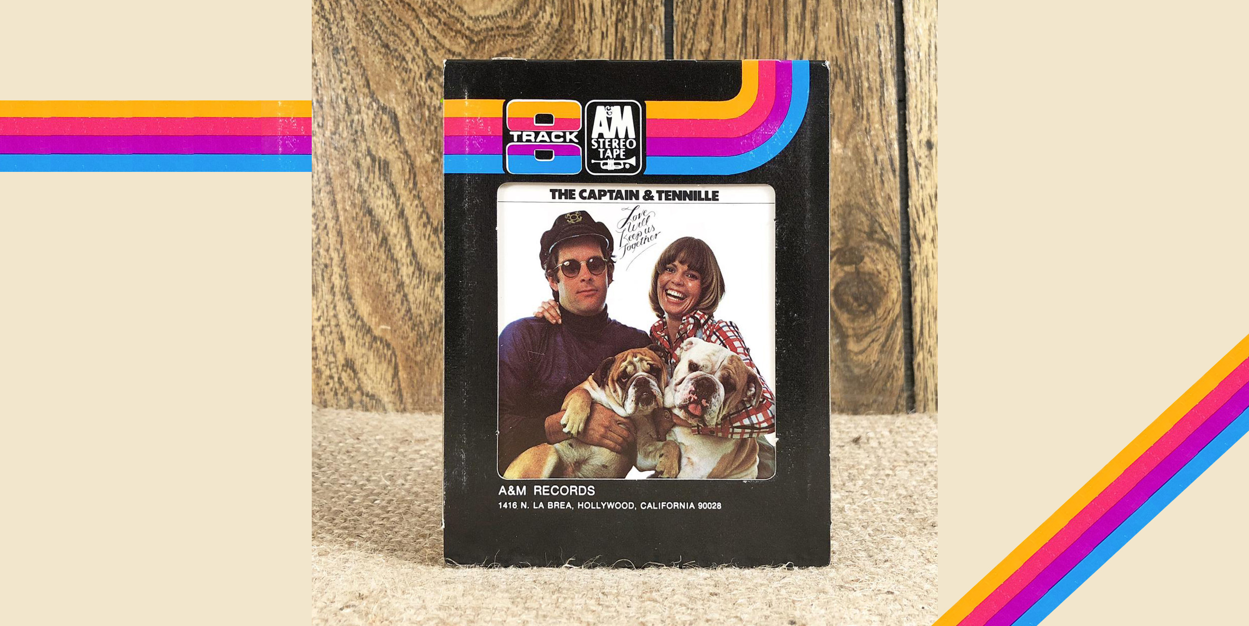 Love Will Keep Us Together 8 Track