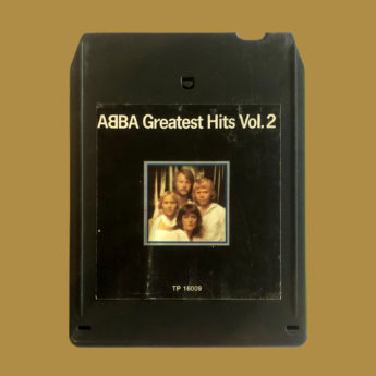 ABBA Greatest Hits Vol. 2 on 8-track