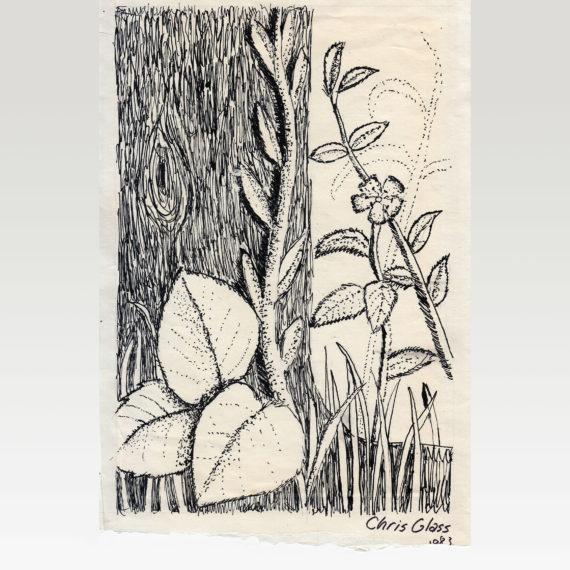 1983 Ink Leaves