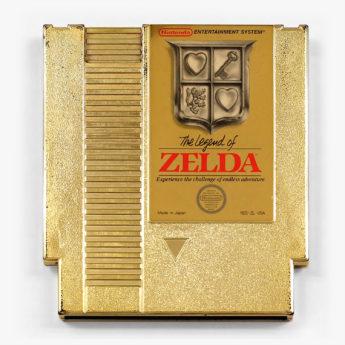 Legend of Zelda gold cartridge