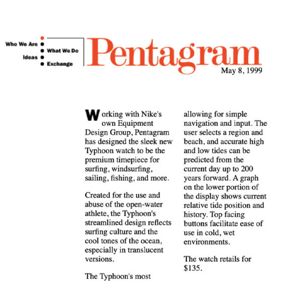 Pentagram's early website