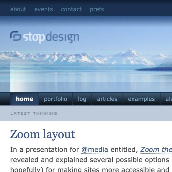 Stop Design Blog