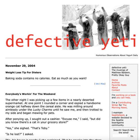 Defective Yeti