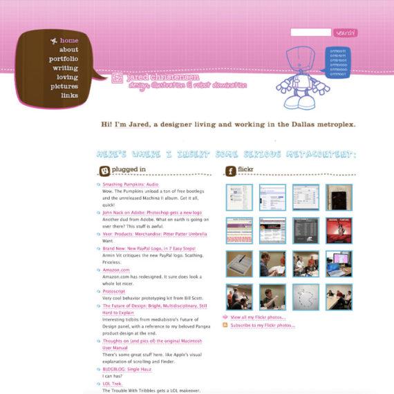 Jared web design