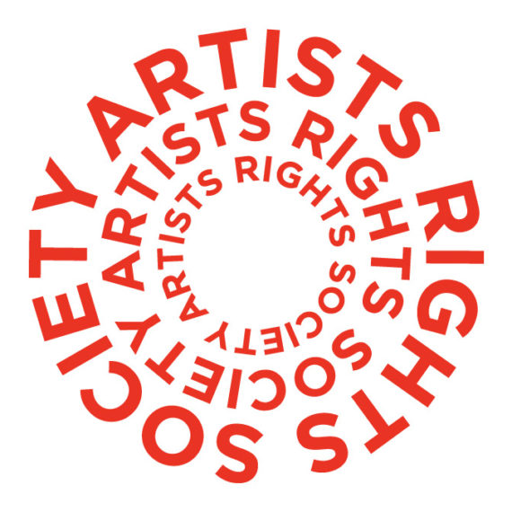 Artists Rights logo with circular red letters