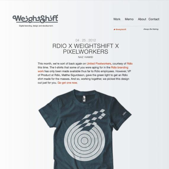 weightshift website