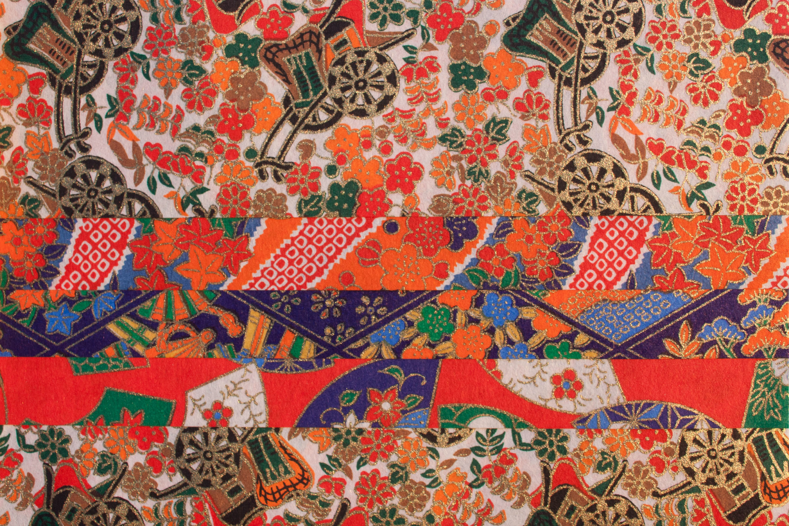 colorful paper from Japan