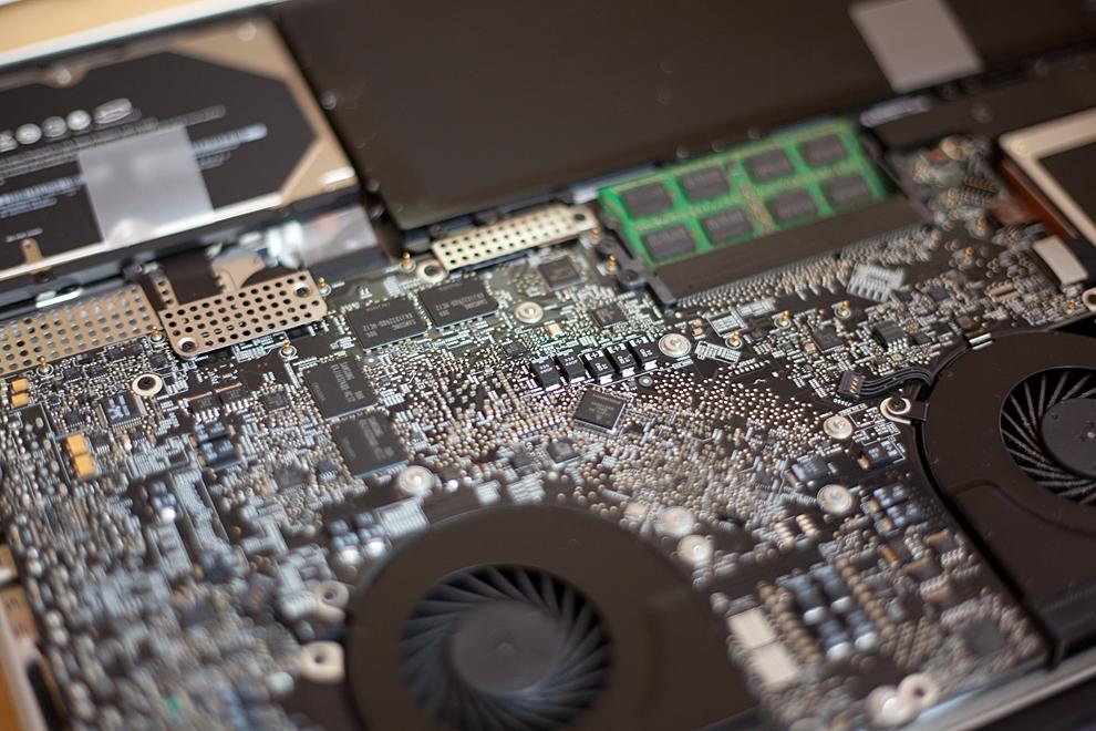 MacBook Pro motherboard
