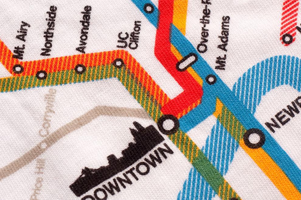 Cincinnati Transit Map for Optimists