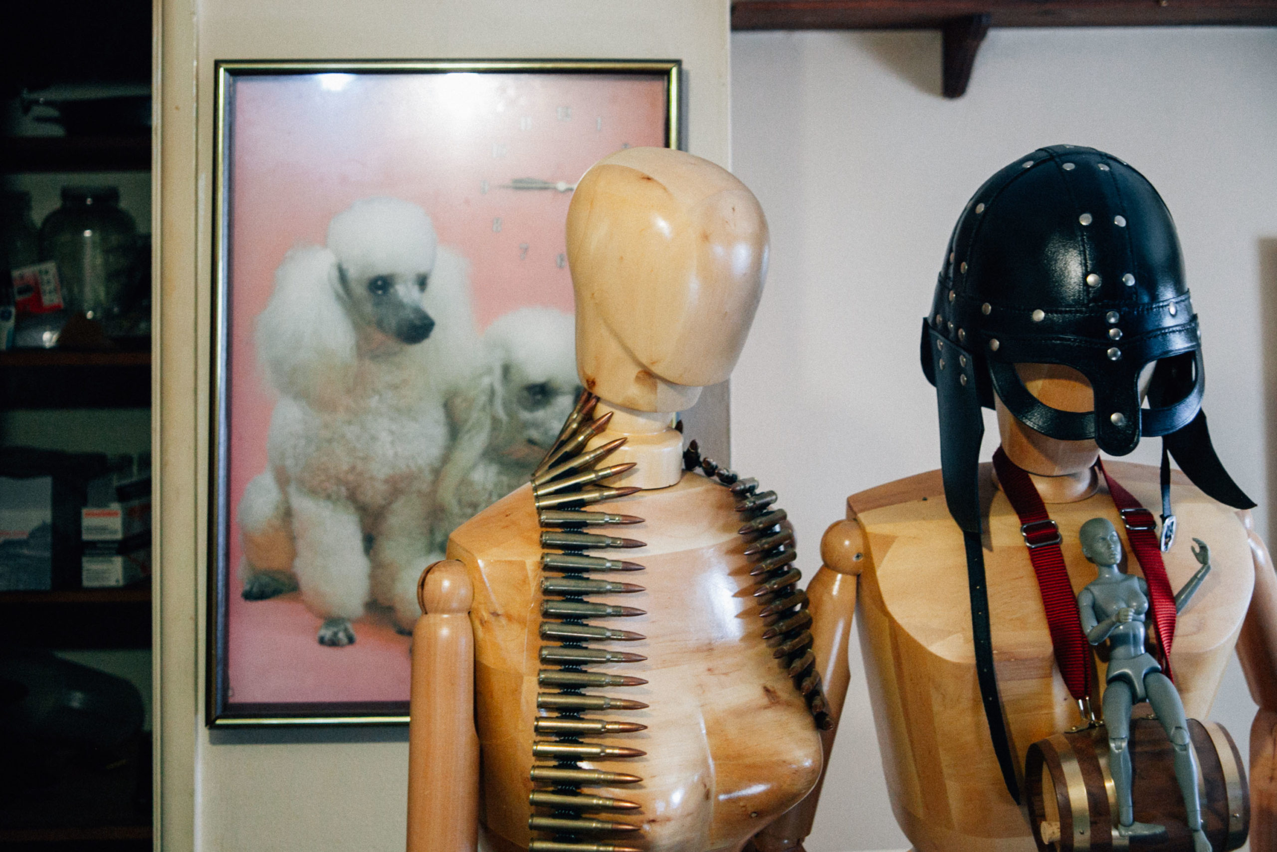 Oddities in Jim's dad's house