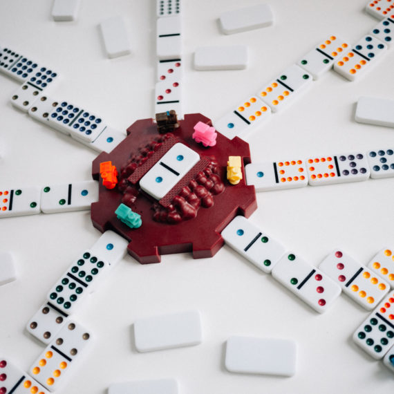 Mexican Train game of dominos
