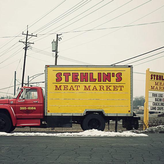 Meat market truck