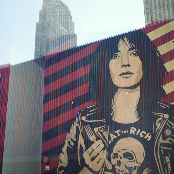 Patti Smith mural